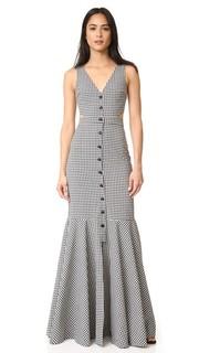 Платье Judith в клетку гингем Marissa Webb