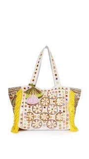 Объемная сумка с короткими ручками Kino Cabas Antik Batik