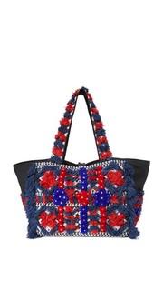 Объемная сумка с короткими ручками Sunny Cabas Antik Batik
