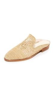 Туфли без задника на плоской подошве Robert Clergerie
