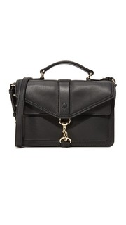 Миниатюрная сумка через плечо Hudson в байкерском стиле Rebecca Minkoff