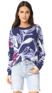 Пуловер с принтом See by Chloe