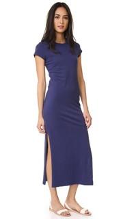 Макси-платье с короткими рукавами Sundry
