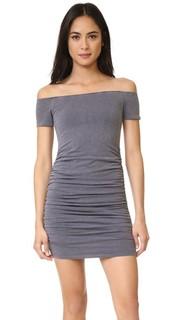 Платье с открытыми плечами Sundry