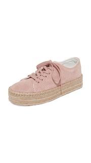 Замшевые кроссовки-эспадрильи Eve Tretorn