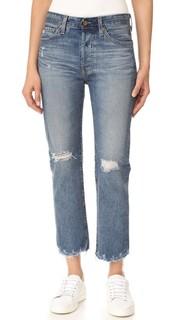 Укороченные прямые джинсы Sloan AG