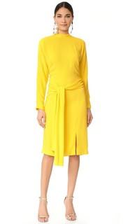 Платье с длинными рукавами Salvatore Ferragamo