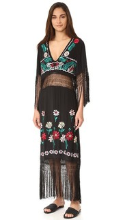 Платье с бахромой Ella Free People