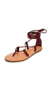 Гладиаторские сандалии Boardwalk на шнуровке Madewell