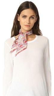 Узкий завязывающийся шарф Missoni