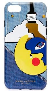 Чехол из денима для iPhone 7 Marc Jacobs