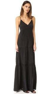 Макси-платье Abby с кружевной отделкой Lagence