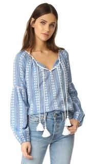Блуза с цветочным рисунком Love Sam