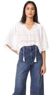 Блуза с защипами Love Sam