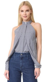 Рубашка с открытыми рукавами Dion Lee