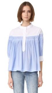 Блуза на пуговицах English Factory