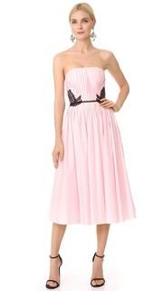 Платье без бретелек J. Mendel