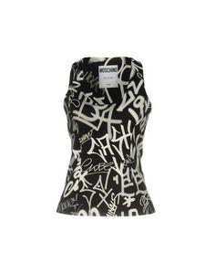 Топ без рукавов Moschino Couture