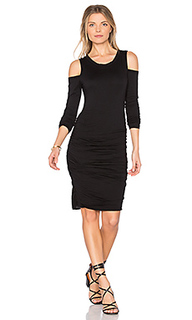 Платье с вырезами на плечах antonella - Velvet by Graham & Spencer