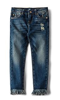 Скинни джинсы до лодыжек - 7 For All Mankind Kids