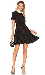 Шелковое мини платье - Kenzo