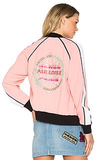 Crepe back satin bomber jacket - Kenzo
