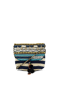 Jane striped crossbody bag - Elliot Mann