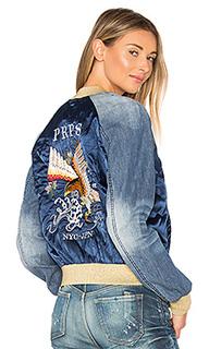 Куртка-бомбер с вышивкой - PRPS Goods & Co