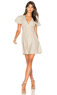 Платье с плащем olive splot - MINKPINK