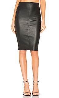 High waist slit skirt - MLML