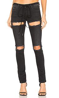 Рваные узкие джинсы - OFF-WHITE
