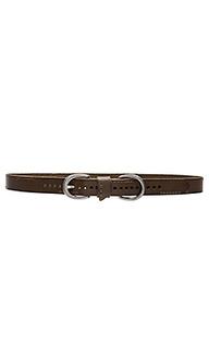 Skinny stitch belt - Linea Pelle