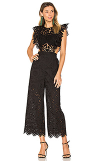 Eyelet jumpsuit - Nightcap