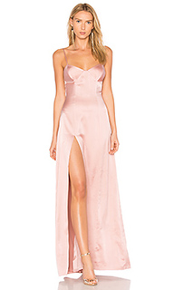 Вечернее платье с вшитым бюстгальтером - Michelle Mason