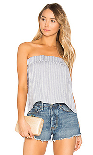 Sky strapless pleat top - Suboo