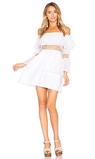 Closer frill off shoulder dress - Suboo