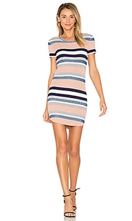 Stripe cap sleeve dress - Callahan
