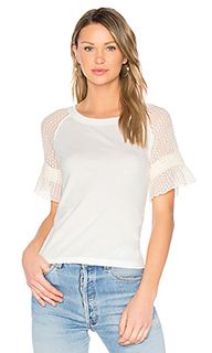 Lace sleeve top - See By Chloe