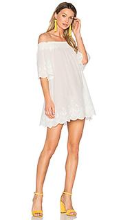 Платье со спущенными плечами athena broderie anglais - MINKPINK