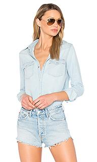 Денимовая рубашка lauren - GRLFRND