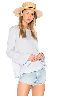 Bell sleeve tie back top - Bella Dahl