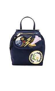 Embellished nylon zip backpack - Marc Jacobs