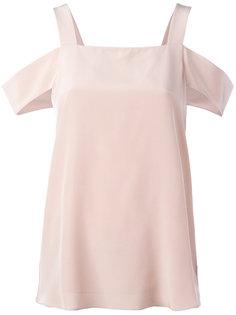 блузка с вырезами на плечах Tibi
