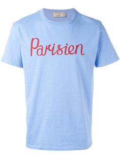 футболка Parisien  Maison Kitsuné