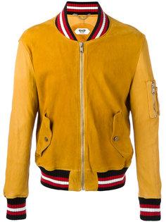 куртка с полосатой окантовкой Pihakapi
