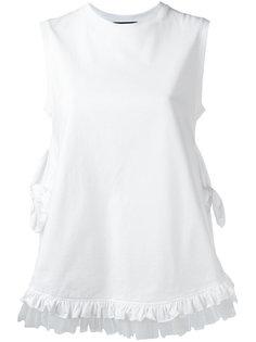 футболка с бахромой Simone Rocha