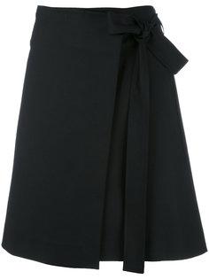 расклешенная юбка с узлом спереди Luisa Cerano