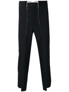 асимметричные укороченные брюки Comme Des Garçons Homme Plus