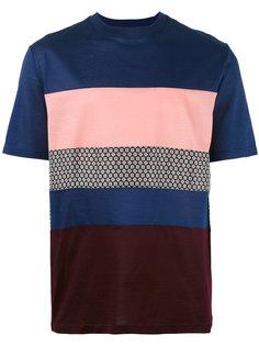футболка с панельным дизайном Lanvin