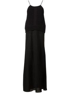 расклешенное платье с трикотажный верхом Dorothee Schumacher
